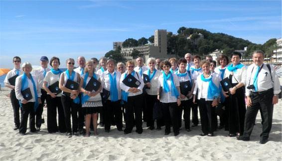 Chorreise Mallorca - Chor unseres Sängerkreises - Leitung: Mirja Betzer - 2013