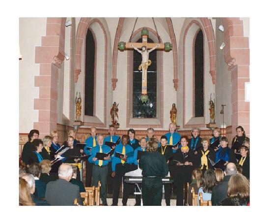 Da Capo bei einem Auftritt in der Wernborner Kirche