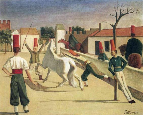 《La Caserne》1933年