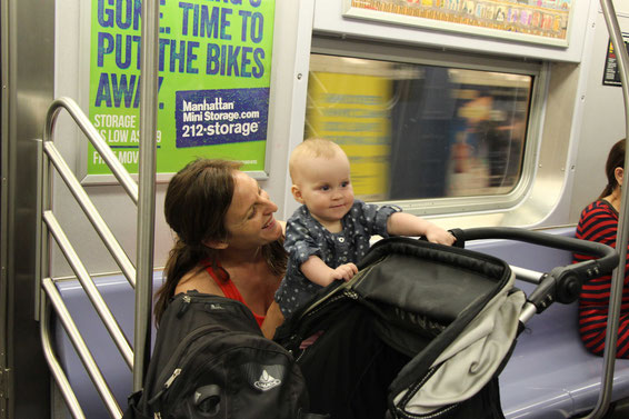 Travel with Baby to NYC