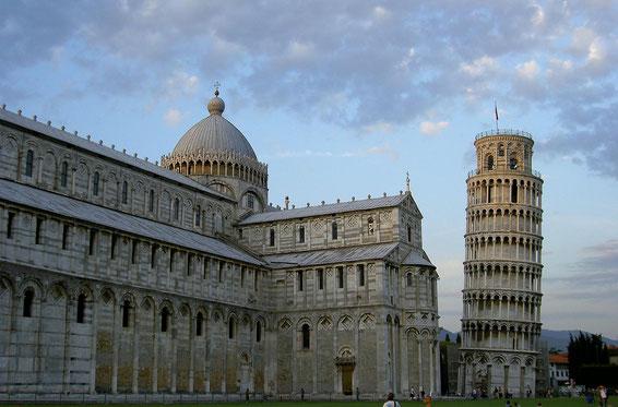 freaky travel, Finanz Hotspot, Gastartikel, Pisa, der schiefe Turm von Pisa und Kathedrale