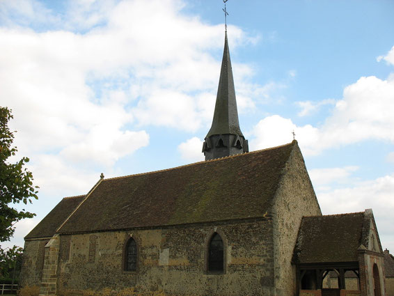 L'église de Saint-Christophe-sur-Avre