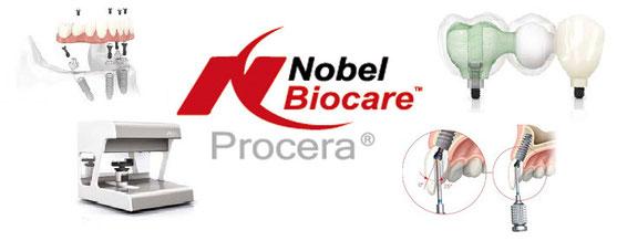 nobel biocare, pib zircone, pib titane, barre implantaire, ASC