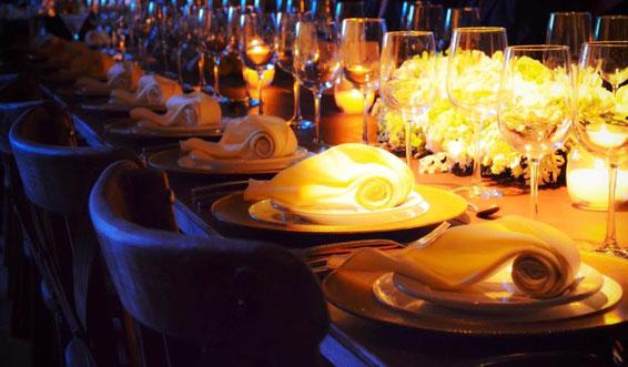 Banquetes y bufetes para eventos