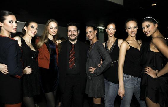 1 st Place Models director Dominik visited model Arantxa in Milan at her first modelmovement