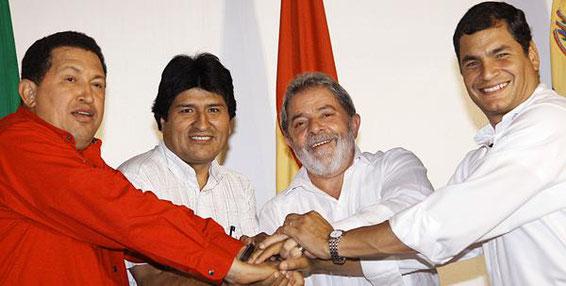También en Ecuador (como en Venezuela y Bolivia) penetró el virus del Socialismo