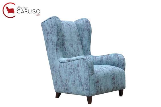 Tappezziere torino stoffa carta pelle atelier caruso - Tappezzare divano ...