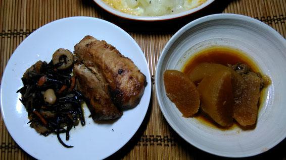 お客様からの頂き物・煮物の写真