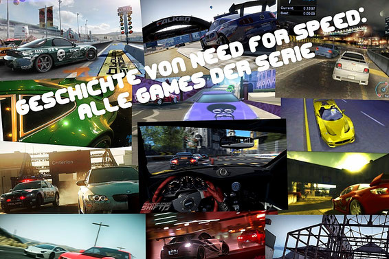 Need for Speed: Alle Games