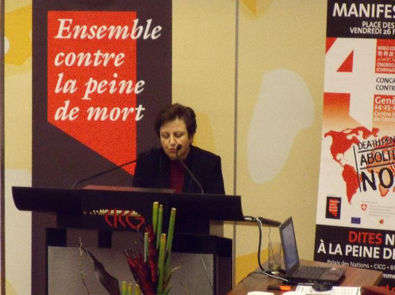 Shirin Ebadi erhielt 2003 den Friedensnobelpreis.