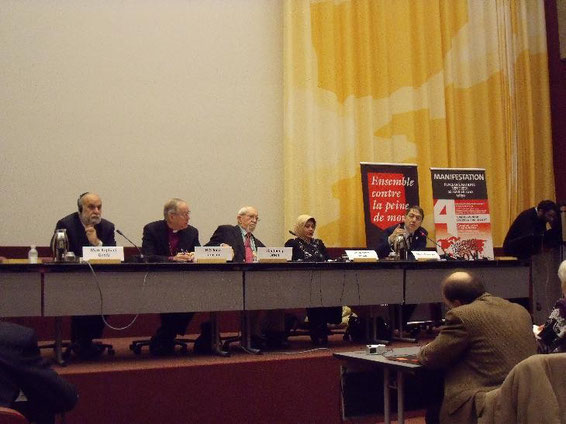 Vertreter der Weltreligionen sprachen über Chancen und Hindernisse der Abschaffung der Todesstrafe aus ihrer Sicht.