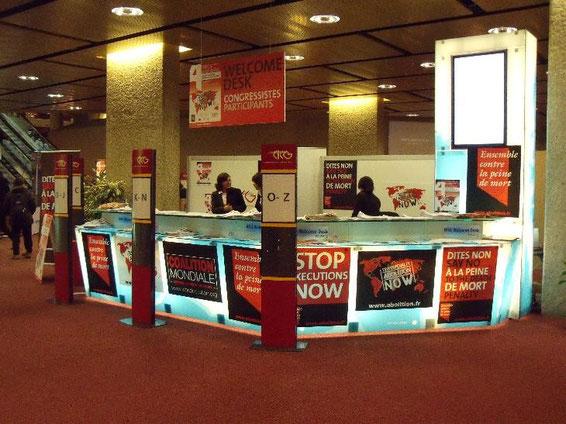Die Veranstalter konnten rund 1500 Teilnehmer aus etwa 100 Ländern begrüßen.