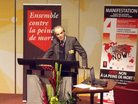 Robert Badinter war in den 80er Jahren Justizminister und sorgte für die Abschaffung der Todesstrafe in Frankreich.
