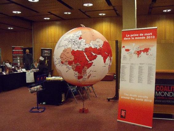 Der 4. Weltkongress gegen die Todesstrafe fand am 24. bis 26. Februar 2010 in Genf statt.