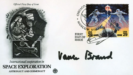 Autograph Vance Brand Autogramm