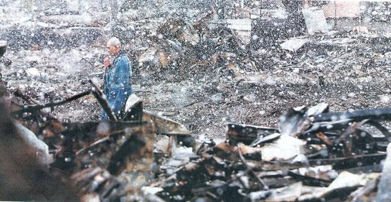 陶芸家 ブログ 茨城県笠間市 焼き物 東日本大震災 3・11 被害 黙とう 祈り