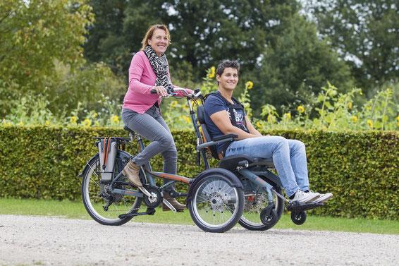 Rollfiets Rollstuhlrad - Dreiräder vom Experten aus der Schweiz