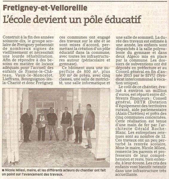 L'Est Républicain 7/11/2014
