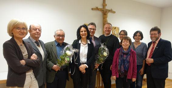 Aktuelle Führung der ökumennischen Nachbarschafthilfe Oberkochen