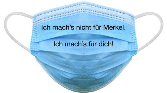 Maskenpflicht Merkel Corona