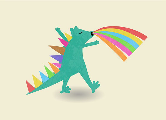 Prontosaurus Rainbow-Rex