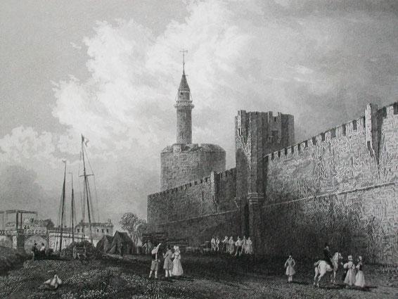 """Tour de Constance (""""Turm der Standhaftigkeit""""), Aigues-Mortes / © Sammlung PRISARD"""