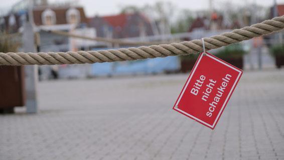 Bitte nicht schaukeln Foto: Ulrich Melzer