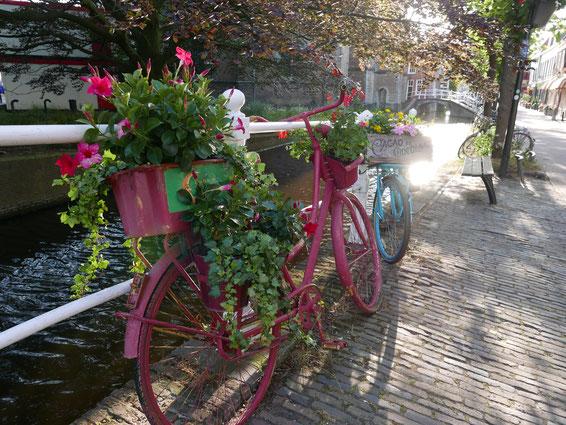 Christiane Scheibler Foto: Fahrrad und Gracht