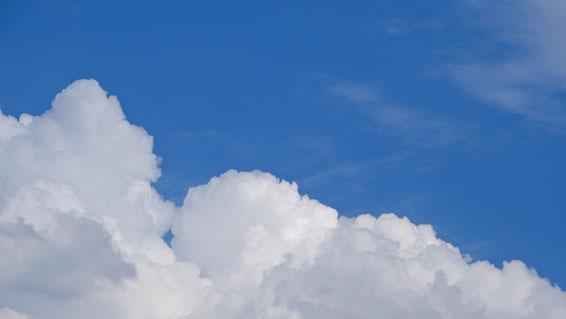 Himmel über Bielefeld Foto: Ulrich Melzer