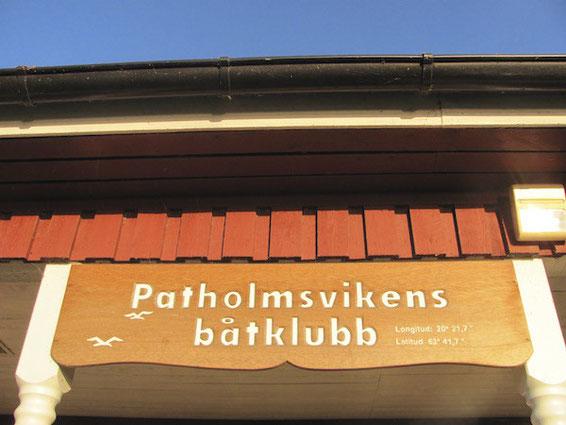 Hafen in Holmsund bei Umeå