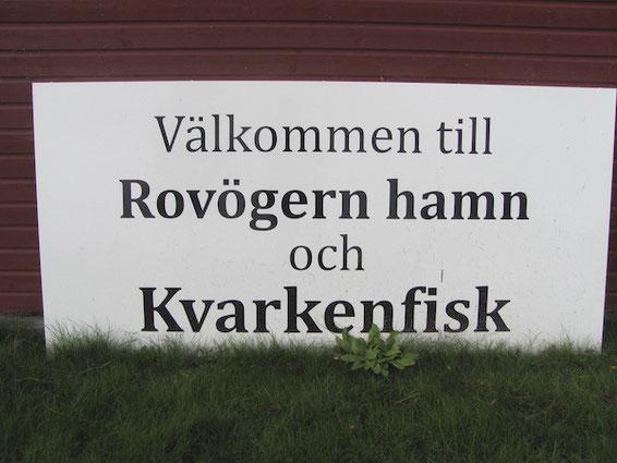 Bestes Fischrestaurant bei Umeå: Kvarkenfisk am Rovögern hamn