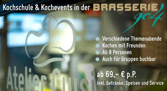Brasserie 904 - Kochschule Angebot