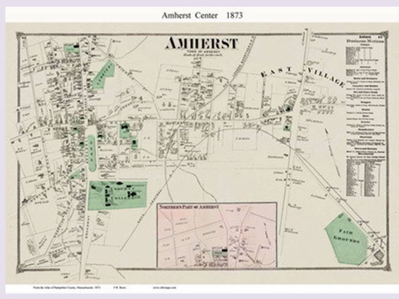 Maps of Amherst copied from old-maps.com. Click photo to link to site.