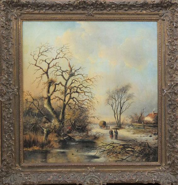 te_koop_aangeboden_een_schilderij_van_j.c.corver_pseudoniem_van_jacob_jan_coenraad_spohler_1837-1894