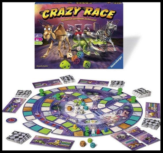 Crazy Race Material