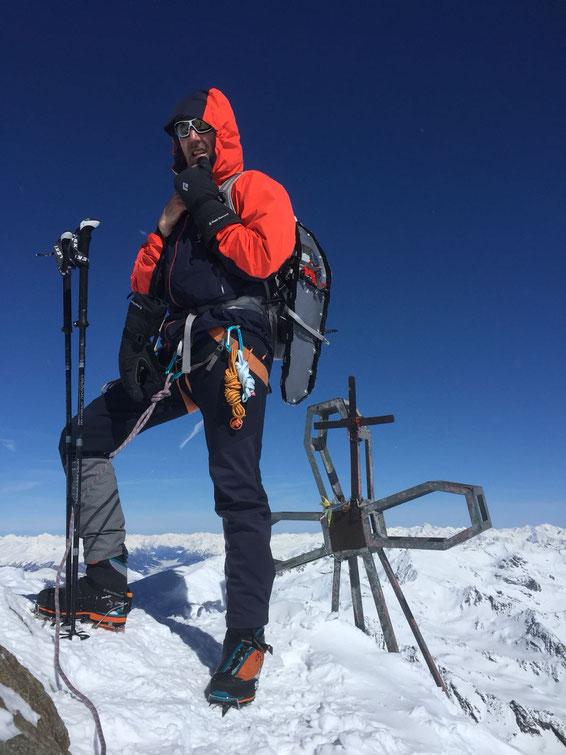 Zufallspitze, Südtirol (3757m)