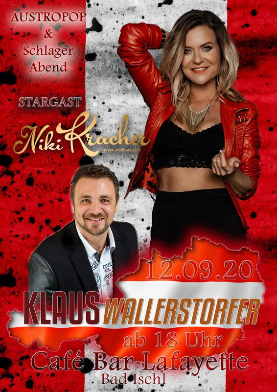 Klaus Wallerstorfer in der Kaiser Stadt Bad Ischl! mit Niki Kracher ! Austropop und Schalger aus der Kulturhauptstadt 2024