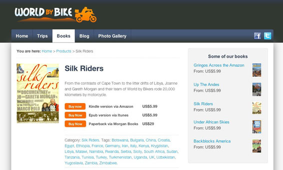 Short Film - Silk Riders - The Documentary