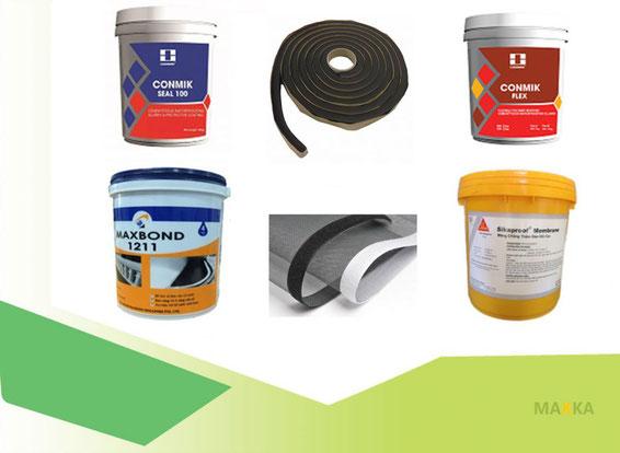 Vật liệu chống thấm sàn vệ sinh Maxka