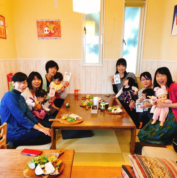 山田花菜ちゃんの子ども似顔絵とわらべうたベビマコラボの会