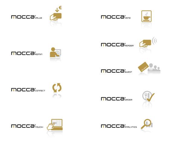 """Produktlogos """"mocca"""" (Module)"""