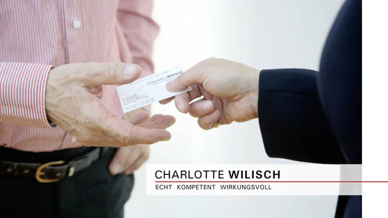 Charlotte Wilisch - Nonverbales Selbstmarketing | Business-Knigge und Umgangsformen