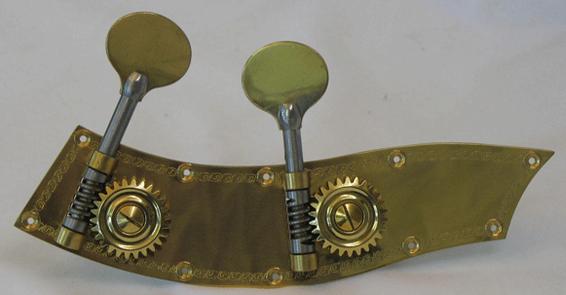 mécaniques contrebasses cuivre