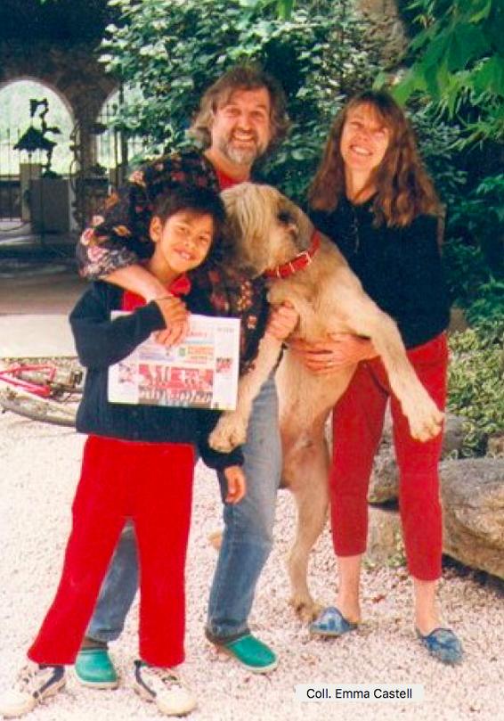 Jose Castell, Trudy, Renato et le chien Jasper