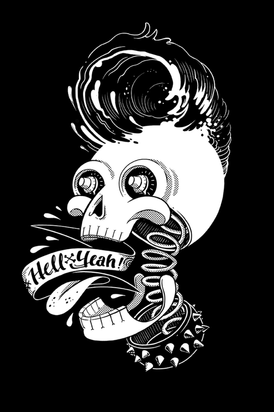Shirtdesign Rockabilly