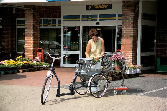 Dreiräder steigern die Lebensqualität