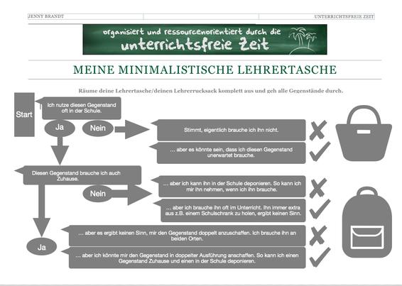 pdf-Dokument: Meine minimalistische Lehrertasche