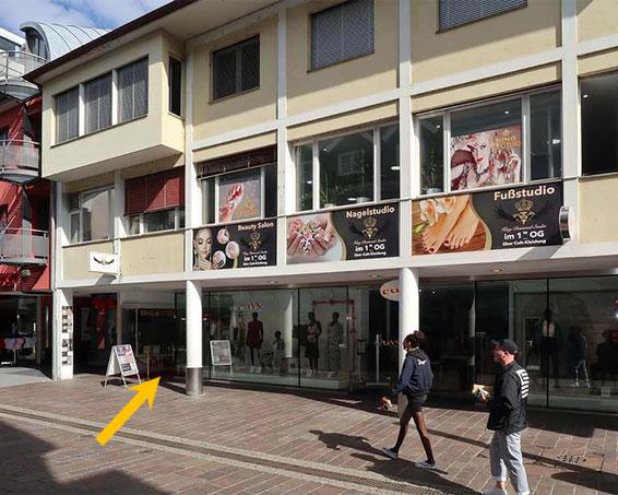 King Kosmetik Studio direkt in der Innenstadt von Lörrach