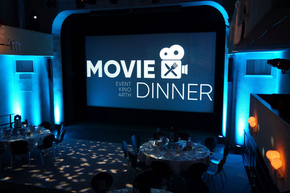 Dekoration des letztjährigen Movie Dinner's (2019)