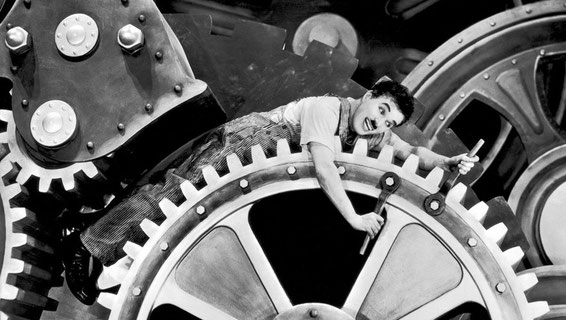 les temps modernes Charlie Chaplin cycle 3